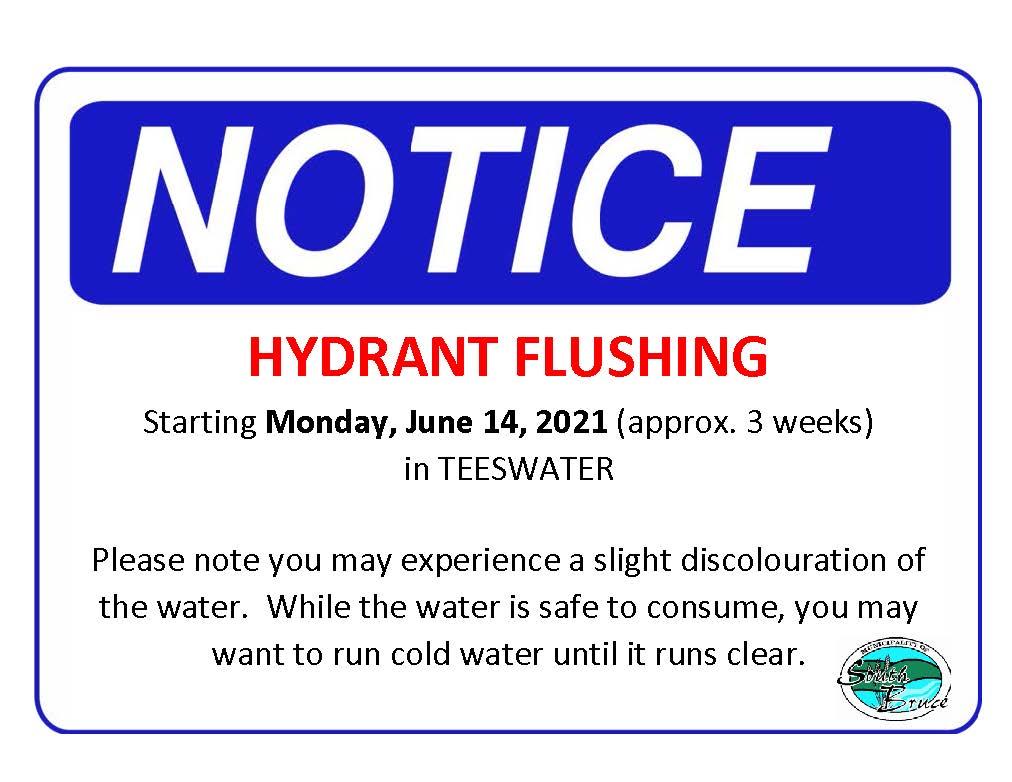 Hydrant Flushing Poster